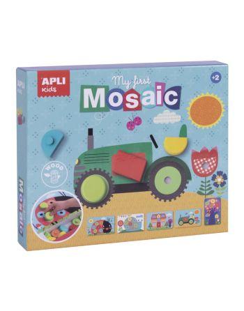 APLI MOSAICO DE MADERA MY...