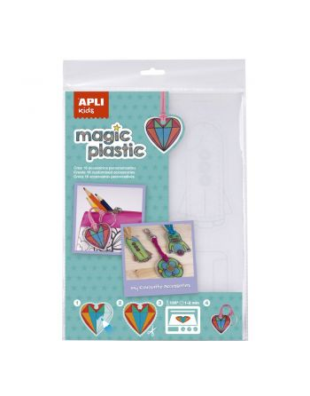 APLI MAGIC PLASTIC A4 4 HOJAS